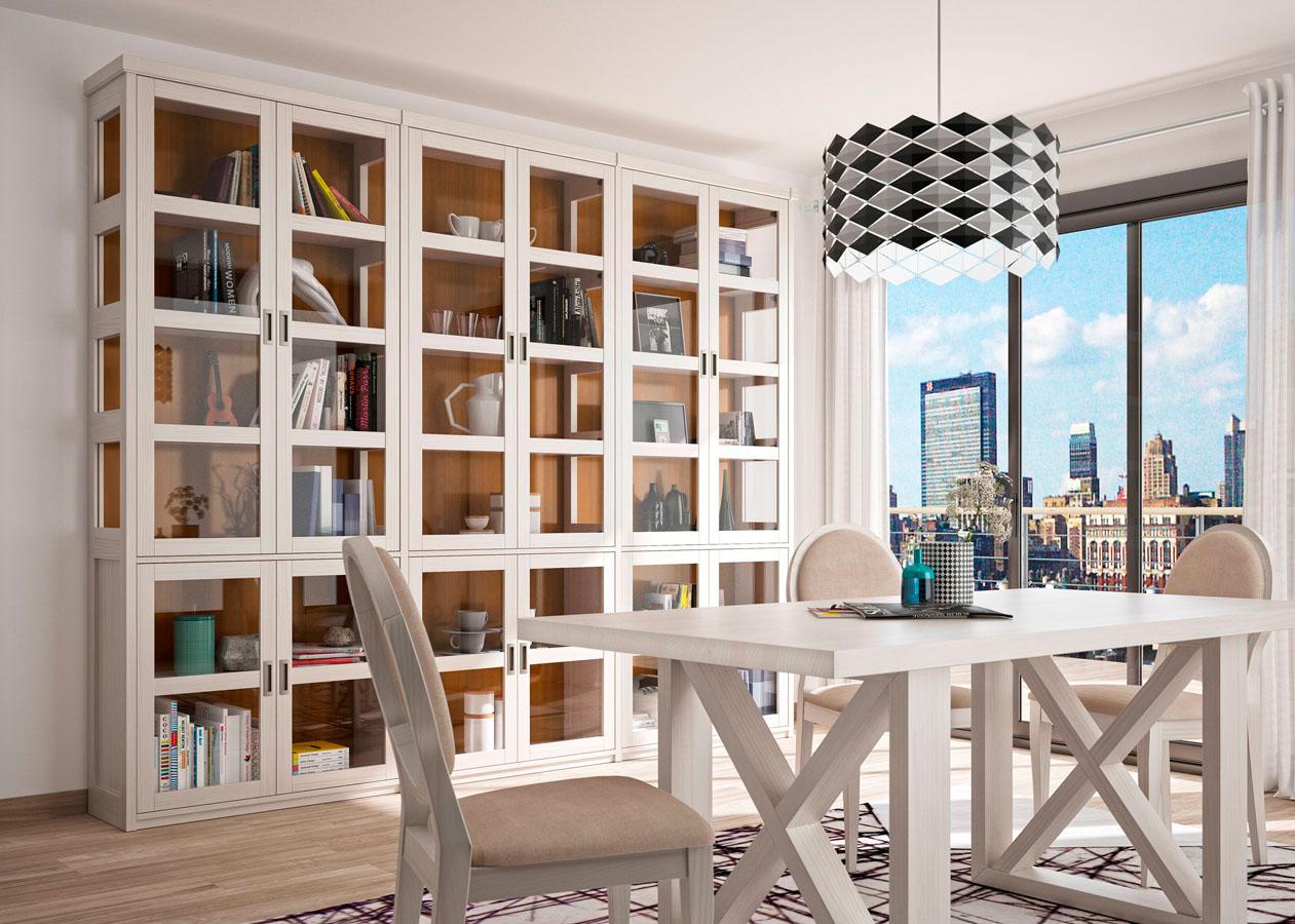 Librerías Estanterías 01C-1 – Muebles GRUPOSEYS – Muebles de Comedor ...
