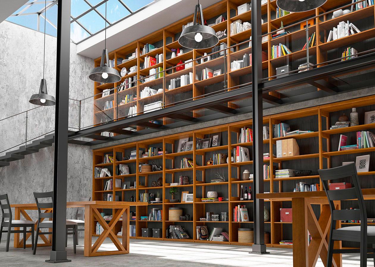 Librerías Estanterías 06C